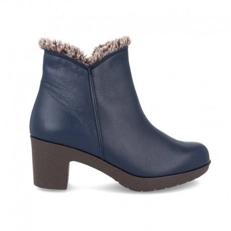 botines mujer azules marca be relax 275