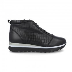 sneakers altas BDA carbon black